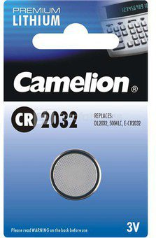 Camelion Lithium Button celles 3V (CR2032), 1-pack 1-pack maitinimo elementai
