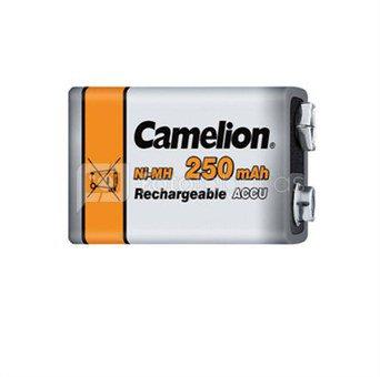 Camelion Ni-MH 9 Volt Block, 250 mAh, 1x įkraunami akumuliatoriai