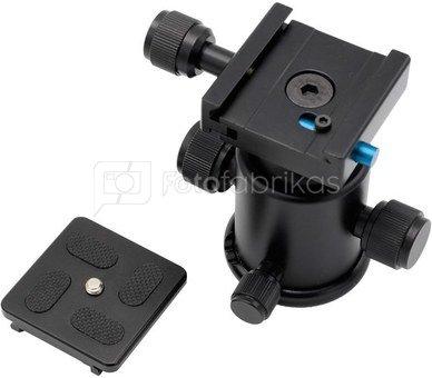 Caruba Camerastand (KS 0)   balhoofd & Quick Release
