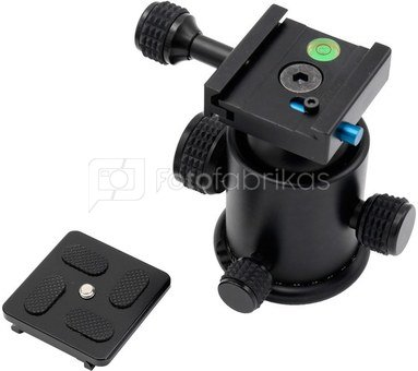 Caruba Camerastand (KS 1)   balhoofd & Quick Release