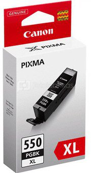CAN PGI-550PGBK Black XL Ink Cart. for PIXMA iP7250, MG5450, MG6350 (500 pages)
