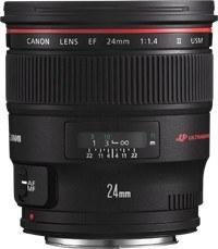 Canon 24mm F/1.4L EF USM II