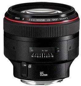 Canon 85mm F/1.2L EF II USM