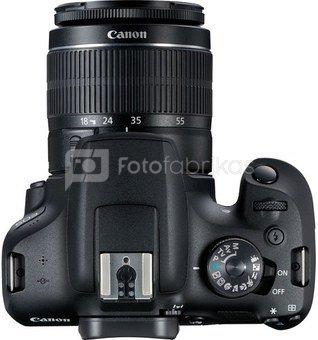 Canon EOS 2000D + 18-55mm III Kit, black