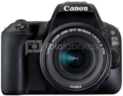 Canon EOS 200D + 18-55mm IS STM