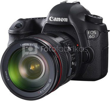 Canon EOS 6D + 24-70mm F4.0L IS USM