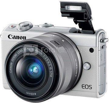 Canon EOS M100 Body (baltas)