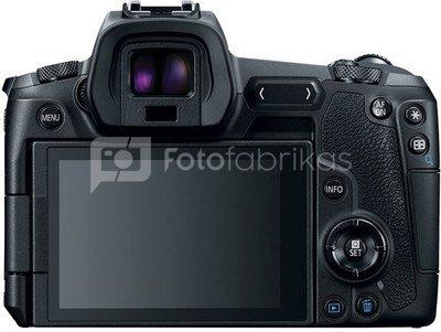 Canon EOS R + 24-105mm f/4L RF + EF-RF adapteris