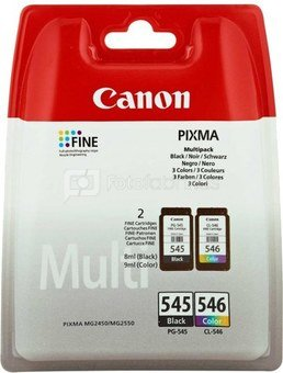 Canon ink cartridge PG-545/CL-546 Multipack, color/black