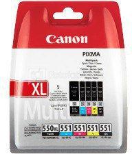 Canon PGI-550XL/CLI-551 C/M/Y/BK Multipack Canon