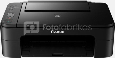Canon PIXMA TS3350 EUR 3771C006 Colour, Inkjet, Multifunction Printer, A4, Wi-Fi, Black