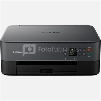 Canon PIXMA TS5350 EUR BLACK 3773C006 Colour, Inkjet, Multifunction Printer, A4, Wi-Fi, Black