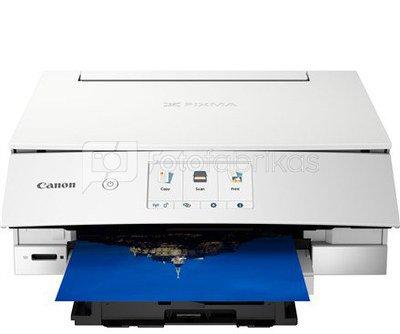 Canon PIXMA TS8351 EUR 3775C026 Colour, Inkjet, Multifunctional Printer, A4, Wi-Fi, White