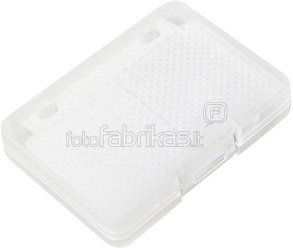 Canubo SD Card Box transparent for 4 SD Cards