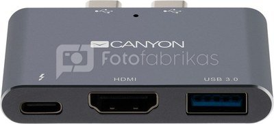 Canyon dock 3in1 Thunderbolt 3 (CNS-TDS01DG)