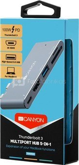 Canyon dock 5in1 Thunderbolt 3 (CNS-TDS05DG)