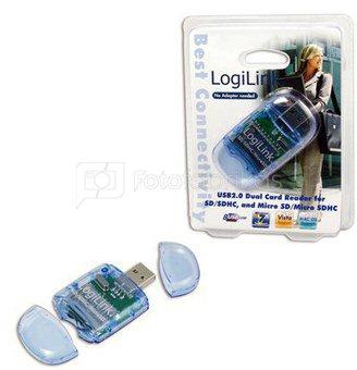 Cardreader USB 2.0 Stick, SD & Micro SD format