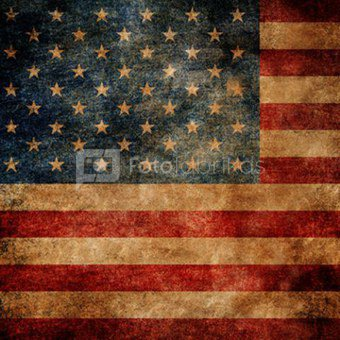 Click Props Background Vinyl with Print American Flag 1.52 x 1.52M