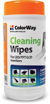 ColorWay Cleaning Wipes for LCD and TFT Screens 100 pcs