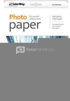 ColorWay High Glossy Photo Paper, A4, 230 g/m, 20 sheets