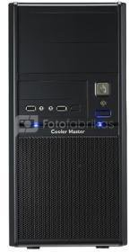 Cooler Master Elite 342, Mini tower, black w/o PSU, micro-ATX