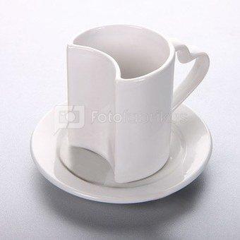 Puodelio su lėkštele (250 ml)