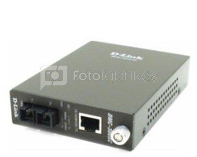 D-LINK DMC-300SC, Fast Ethernet Twisted-pair to Fast Ethernet Multi-mode Fiber (2km, SC) Media Converter Module