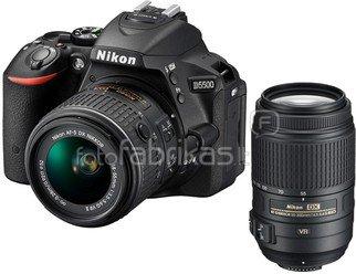 Nikon D5500 + 18-55mm VR II + 55-300mm VR
