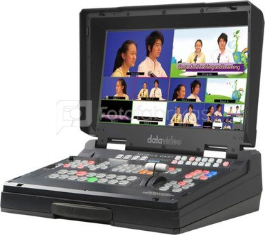 DATAVIDEO HS-1300 6 INP HD SWITCHER IN CASE WITH STREAMING