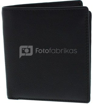 Dėklas kortelėms odinis juodas H:1 W:9 D:10 cm HM1006 psb