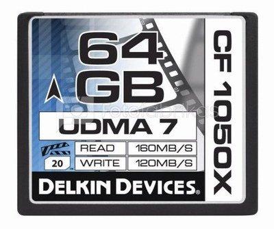 DELKIN CF PRIME UDMA 7 1050X R160/W120 64GB
