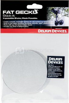 Delkin Stick-It Discs Set of 2