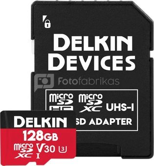 DELKIN TRAIL CAM ACTION MICROSDXC (V30) 128GB