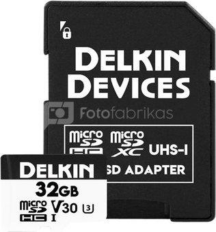 DELKIN TRAIL CAM HYPERSPEED MICROSDHC (V30) 32GB - TOP-SELLER!