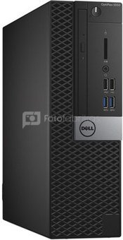 Dell Optiplex 5050 Desktop, SFF, Intel Core i5, i5-7500, Internal memory 8 GB, DDR4, SSD 256 GB, Intel HD, Tray load DVD Drive (Reads and Writes to DVD/CD), Keyboard language English, Windows 10 Pro