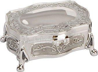 Dėžutė metalinė ant kojelių H:5 W:13 D:8 cm JTB102