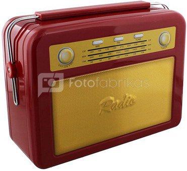 """Dėžutė metalinė """"Radijas"""" H:23 W:27 D:10 cm HM166"""