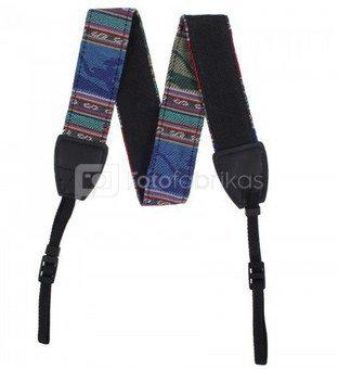 Dirželis fotoaparatui Camera Strap 80-120 cm Blue