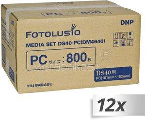 DNP DS 40 Media DS 10x15 cm 12x 400 Prints