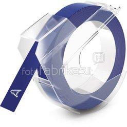 Dymo 3D Label Tape 9 mm x 3 m Plastic glossy blue