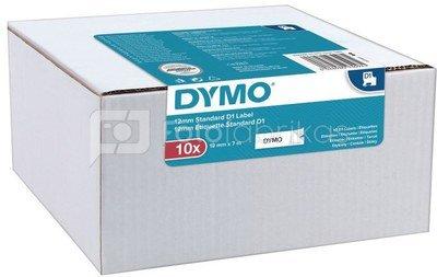 Dymo label tape D1 12mmx7m 10pcs