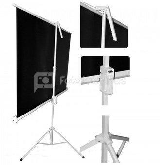 Ekranas projektoriui 150x150cm (Projection Screen 150x150cm + tripod)