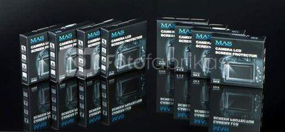 Ekrano apsauga MAS D5100 Camera LCD Screen Protector