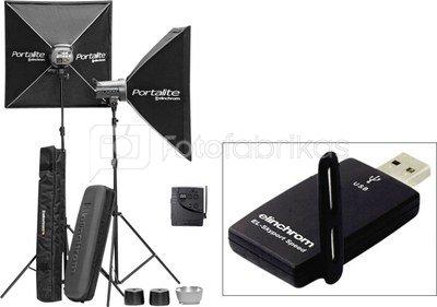 Elinchrom D-Lite RX 4 Set + USB Transceiver