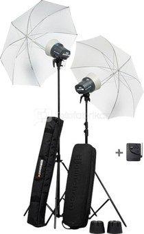 Elinchrom D-Lite RX ONE skėčių komplektas