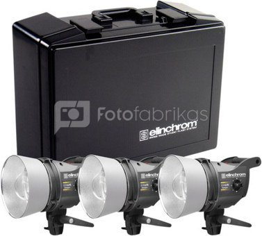 Elinchrom Zoom Scanlite Halogen Set 3