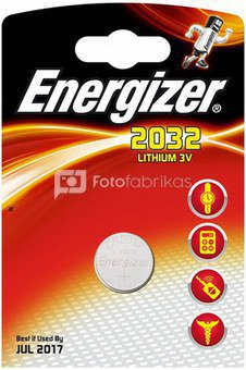 Energizer CR2032, Lithium, 1 pc(s)