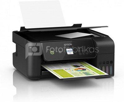 Epson 3 in 1 printer EcoTank L3160 Colour, Inkjet, All-in-one, A4, Wi-Fi, Black