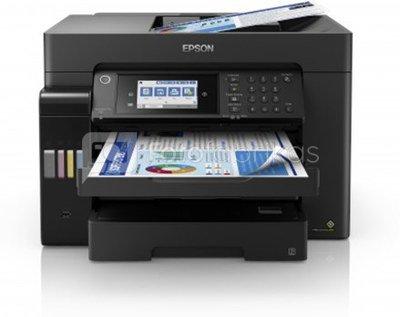 Epson EcoTank L15160 Colour, Inkjet, Multicunctional Printer, A3+, Wi-Fi, Black