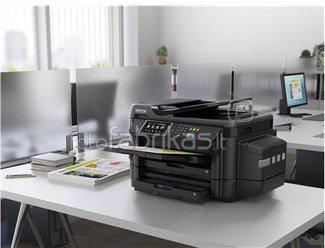 Epson L1455 Colour, Inkjet, Multifunction Printer, A3+, Wi-Fi, Black